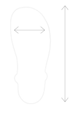 huarache-uni-velikosti-mereni